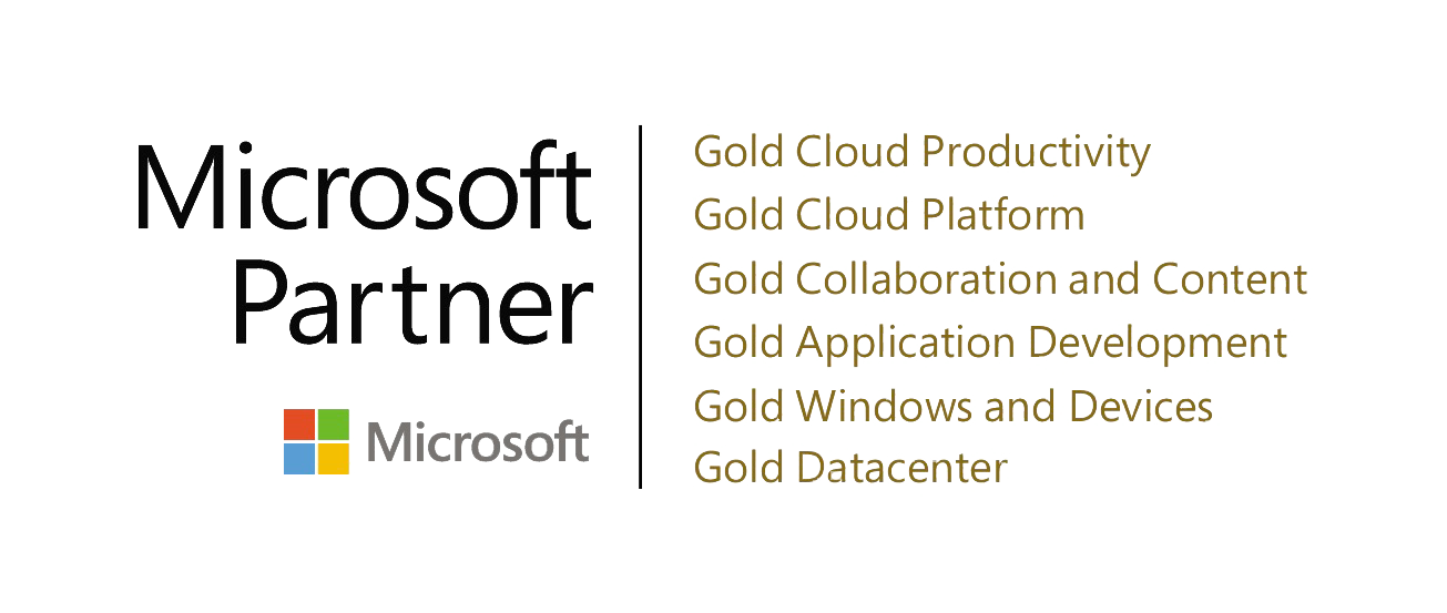 Microsoft 4 x Goldpartner